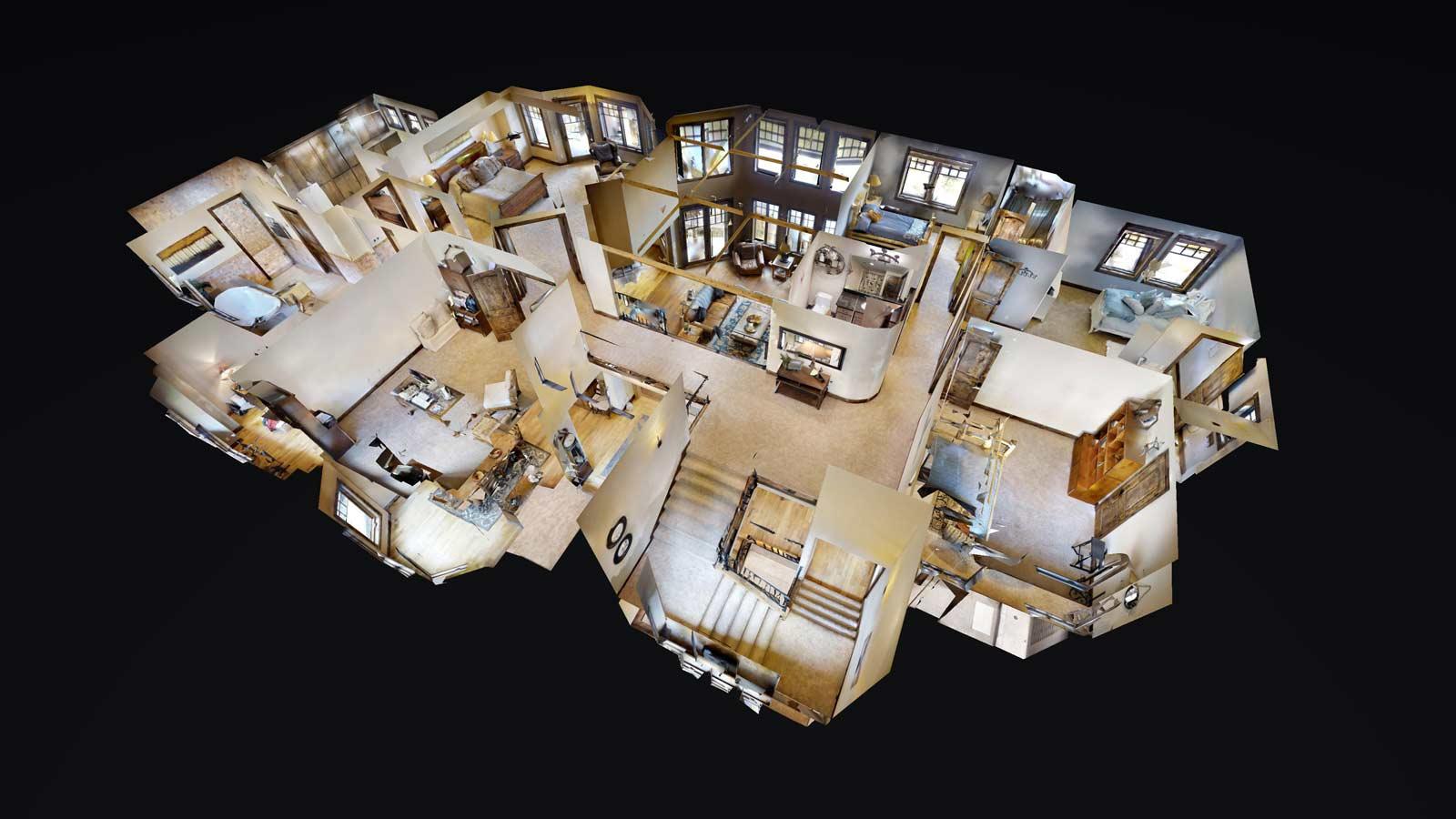 Matterport Virtual Tour Dollhouse View